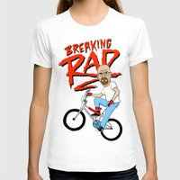 breaking T-shirts featuring Breaking Rad by Chris Piascik