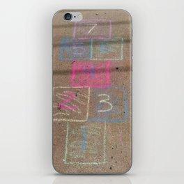 Hopscotch iPhone Skin