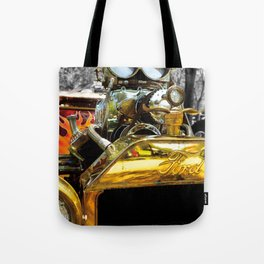 FLAMES AND CARBS Tote Bag
