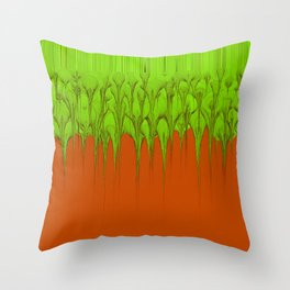Chemical Spill Throw Pillow