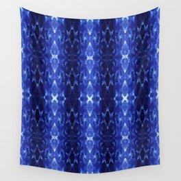 Ikat Shibori Blues Wall Tapestry