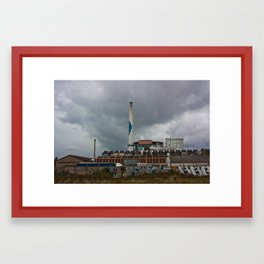 Blue Sugar Framed Art Print