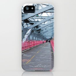 Across the Williamsburg Bridge iPhone Case