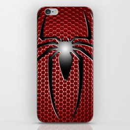 RED SPIDER iPhone Skin