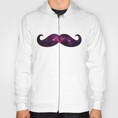 Space mustache Hoody