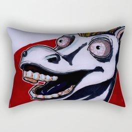mad horse Rectangular Pillow