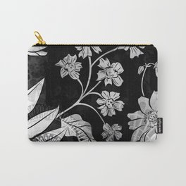 Porcelan Posies Carry-All Pouch