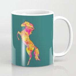 Fire Horse Silhouette Coffee Mug