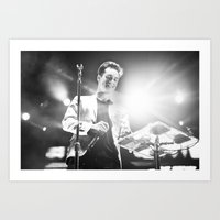 panic at the disco Art Prints featuring Panic! At The Disco by Adam Pulicicchio Photography