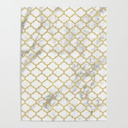 Moroccan marble Poster