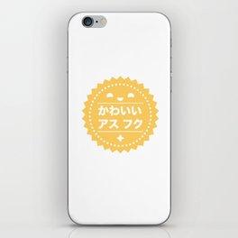 Certified Kawaii as Fuck iPhone Skin