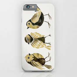 24-Karat Goldfinches iPhone Case