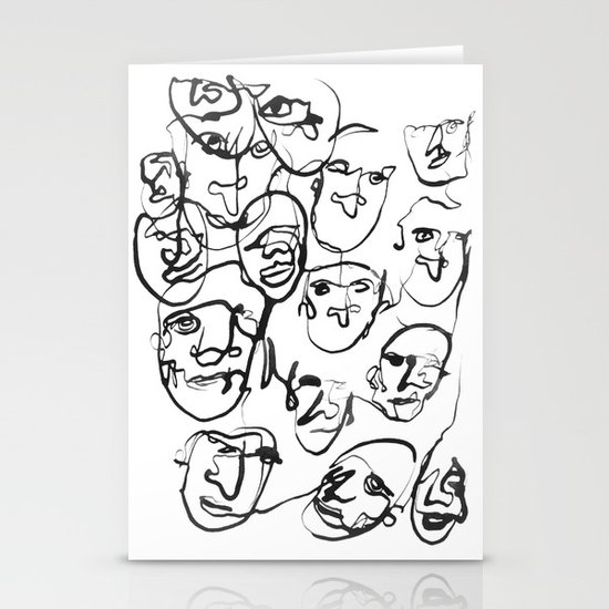 FACES / 000 Stationery Cards