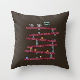 Human Work! Throw Pillow