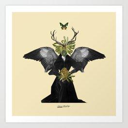 complicated creature - stillness Art Print