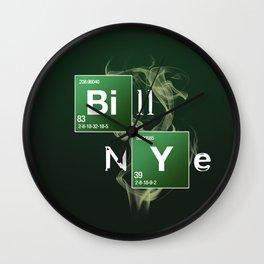 Bill Nye Wall Clock