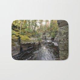 Sturgeon River Canyon in Michigan's Upper Peninsula Bath Mat