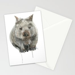 Wombat watercolour Stationery Cards