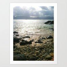 Sea-renity Art Print