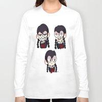 dangan ronpa Long Sleeve T-shirts featuring Fukawa by dartty