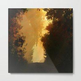 Into the Light, Landscape Art Metal Print