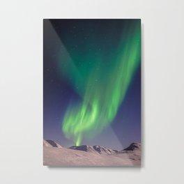 The Northern Lights (Aurora Borealis) Metal Print