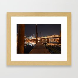 Stumptown Framed Art Print