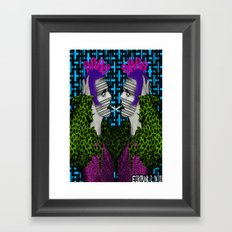 Pantone 2/10 = David Bowie Framed Art Print
