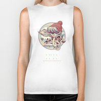 miles davis Biker Tanks featuring MILES AWAY by MFK00 aka Alex Arizmendi