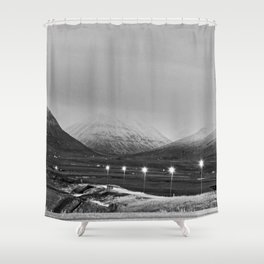 Varmahlíð Shower Curtain