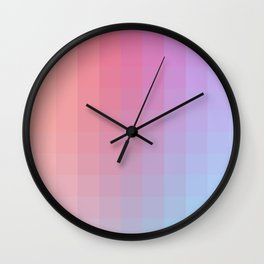 Lumen, Pink and Violet Glow Wall Clock