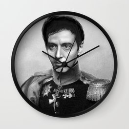 Al Pacino Scar Face General Portrait Painting | Fan Art Wall Clock