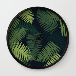 foliage#2 Wall Clock