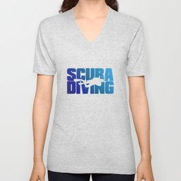 Scuba Diving Unisex V-Neck