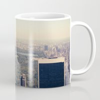 central park Mugs featuring Central Park by Thomas Richter