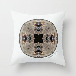 Burned Treasure #4 Throw Pillow