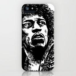 Jimi Hendrix Pop-Art iPhone Case