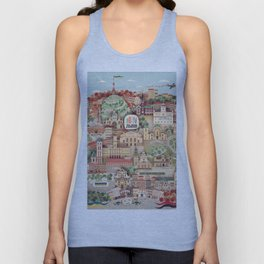 Lviv. Open for the World. Unisex Tank Top