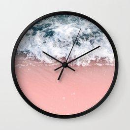 Ocean Beauty Dream - Crashing Waves #1 #wall #decor #art #society6 Wall Clock
