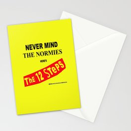 Never Mind the Normies Stationery Cards