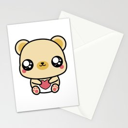 BEAR-Y LOVABLE FRAMELESS Stationery Cards
