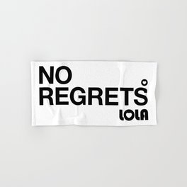 No Regrets Hand & Bath Towel