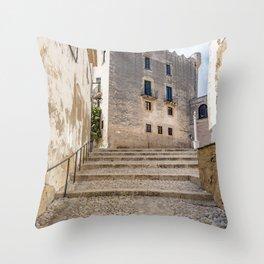 Altafulla Town Throw Pillow
