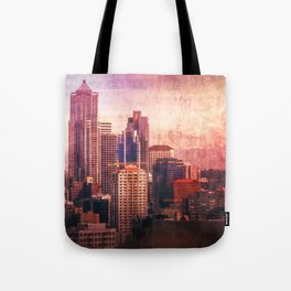 Decode in Downtown Seattle Tote Bag