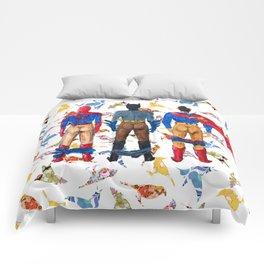 Super Hero BUTTs | It's a bird, it's a plane, it's... a booty Comforters