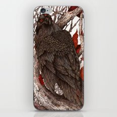A Raven In Winter iPhone & iPod Skin