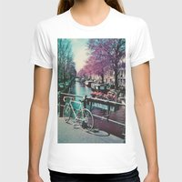 amsterdam T-shirts featuring amsterdam by Richard PJ Lambert