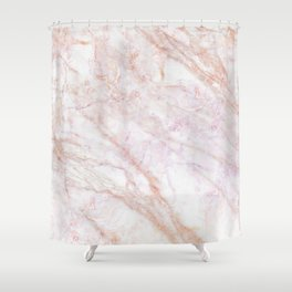 MARBLE MARBLE MARBLE Shower Curtain