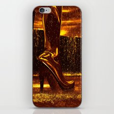 Shiny Boots of Leather iPhone & iPod Skin