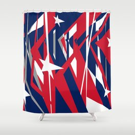 AMERICAN DREAM Shower Curtain